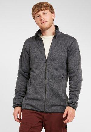 PISTE FULL ZIP  - Fleece jacket - black out