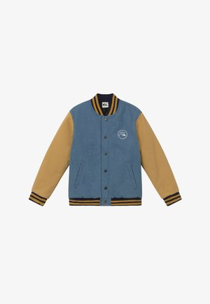 RADICALS LOG - Winter jacket - light blue/mustard yellow
