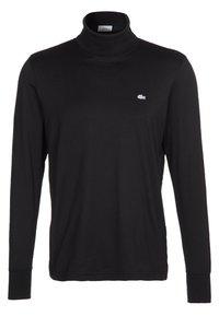 Lacoste - LONGSLEEVE - Langærmede T-shirts - schwarz - 0