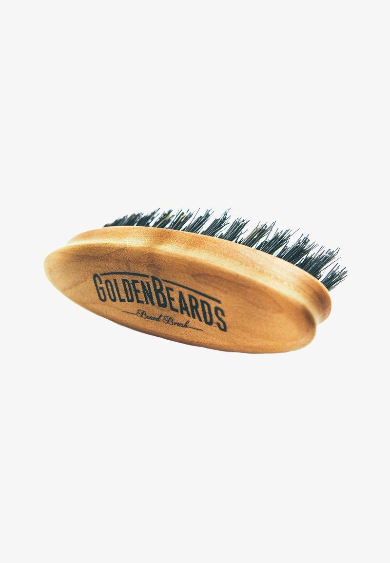 Golden Beards - BEARD BRUSH TRAVEL SIZE - Borstel - -