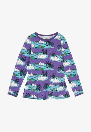 SWAN - Long sleeved top - purple heart