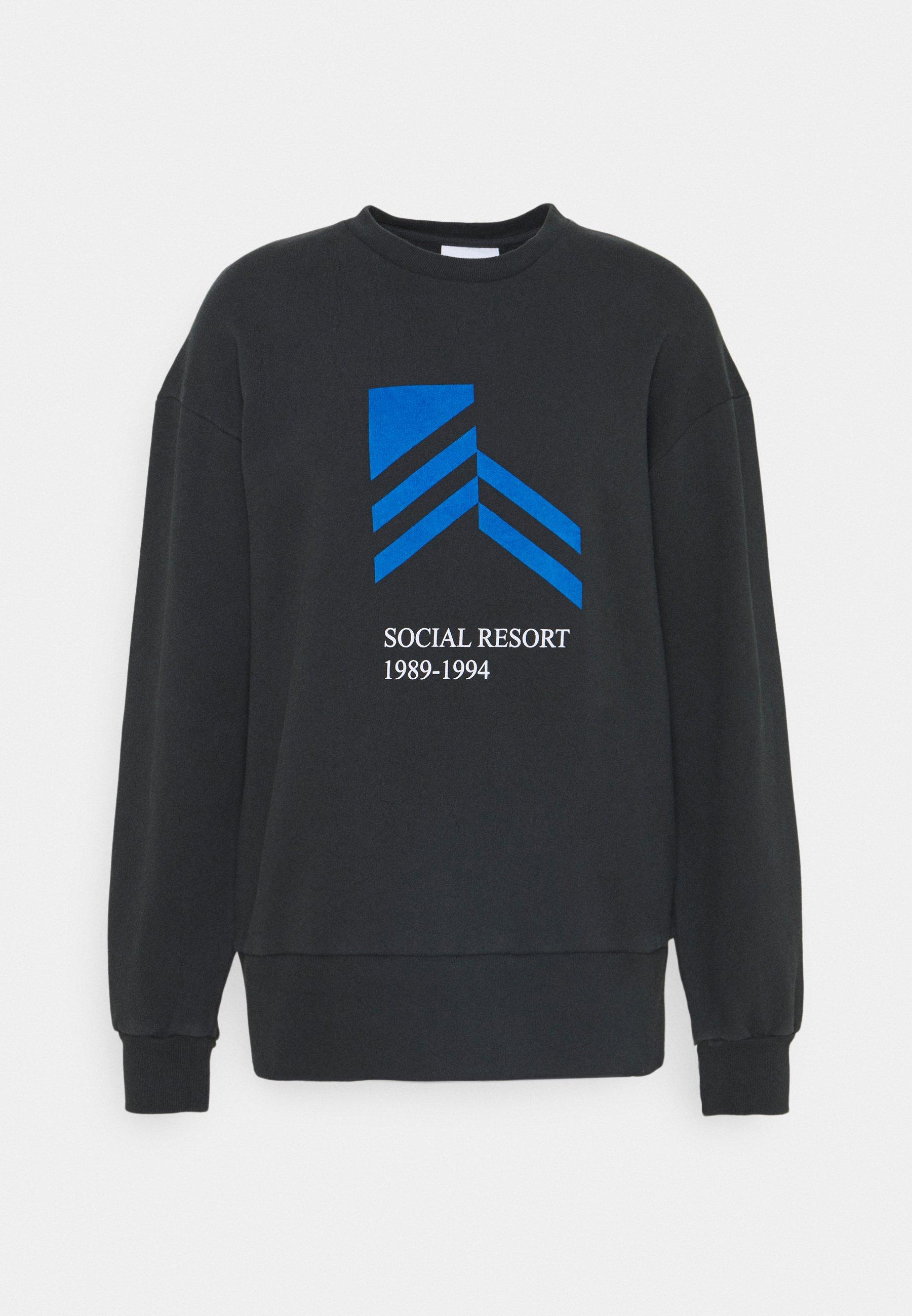 BULKY CREW Sweatshirts faded black