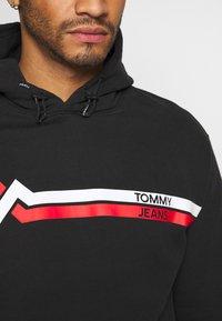 Tommy Jeans - STRIPE MOUNTAIN - Hoodie - black - 5