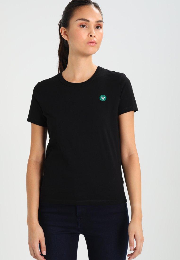 Wood Wood - UMA - Print T-shirt - black