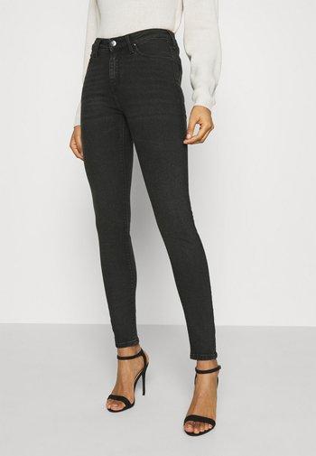 SCARLETT HIGH - Jeans Skinny Fit - black whitley