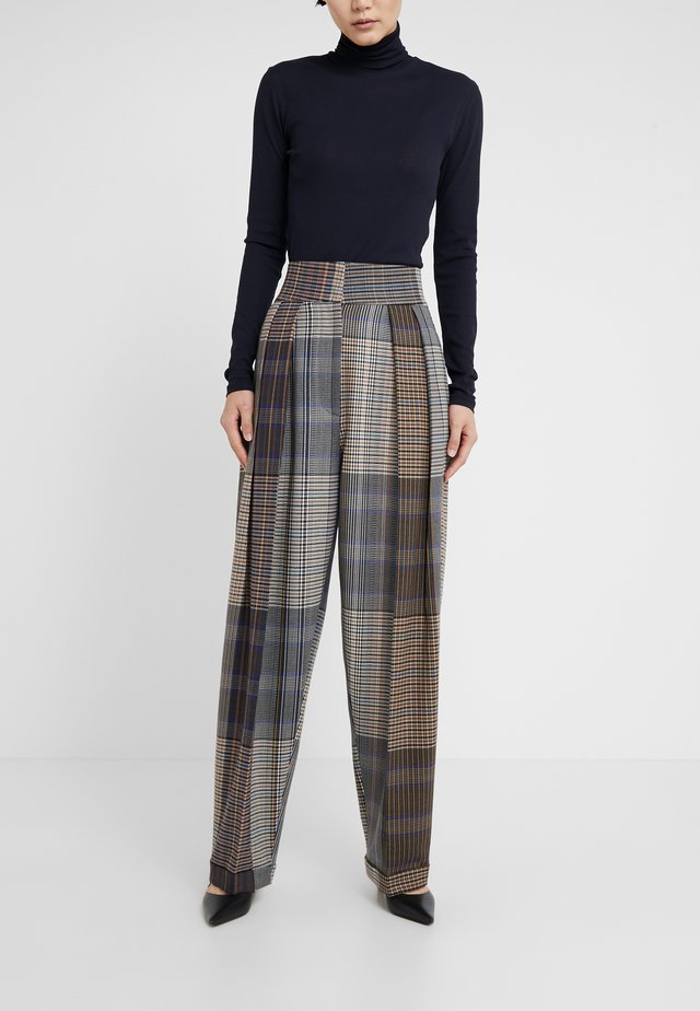PANTALONE BALOON - Pantaloni - brown