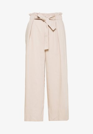 QUIIW CULOTTE PANT - Trousers - powder beige