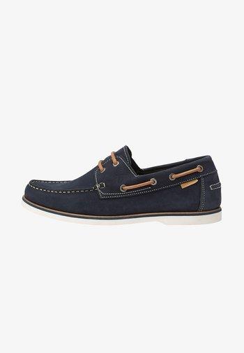 NADAL - Boat shoes - navy