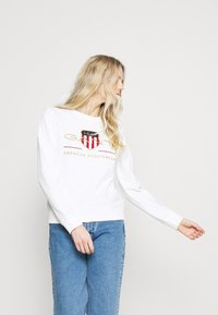 GANT - ARCHIVE SHIELD - Sweatshirt - eggshell - 3