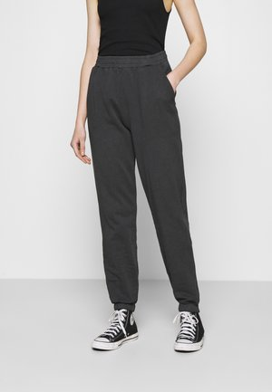 WASHED OUT PANTS - Tracksuit bottoms - offblack