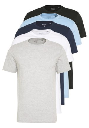 5 PACK - T-shirt basic - white