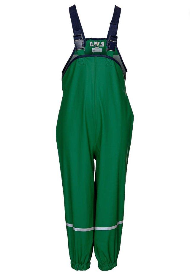 Pantalones impermeables - grün