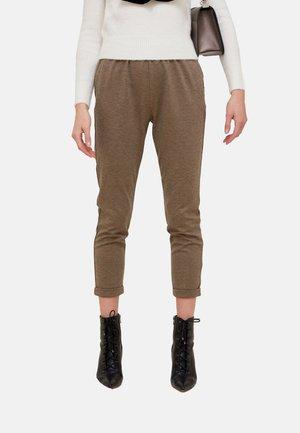 JOGGERS IN MILANO-RIB - Trousers - marrone