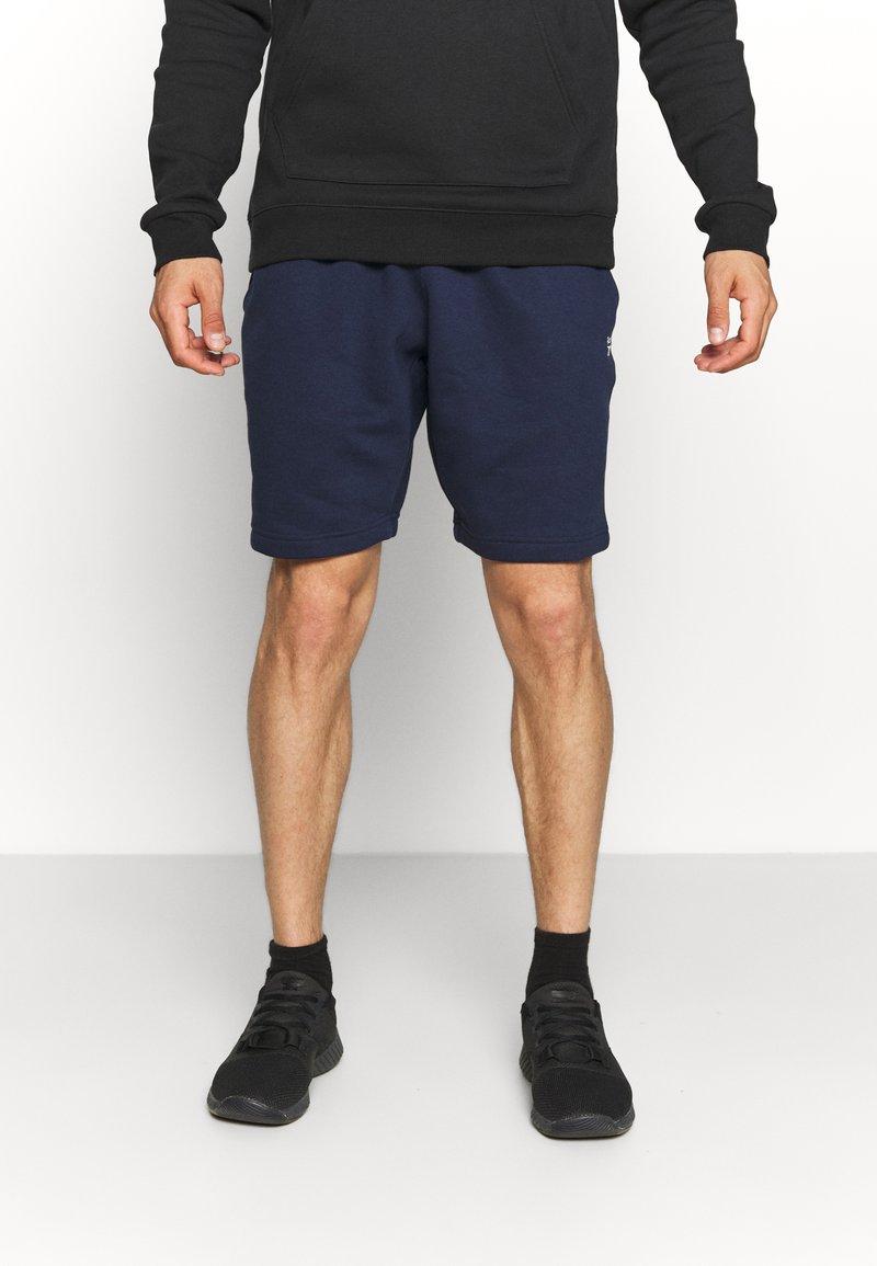 Reebok - SHORT - Sports shorts - vector navy