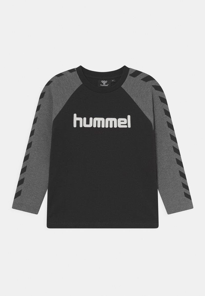 Hummel - BOYS - Top sdlouhým rukávem - black