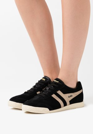 HARRIER MIRROR - Sneakersy niskie - black/gold