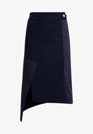 RAESA - A-line skirt - dark blue