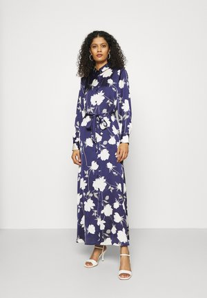 ESSENTIAL SHIRTDRESS MARCH - Maxi šaty - blue