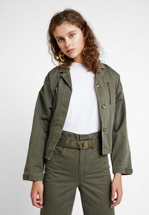 BERMA JACKET - Summer jacket - dark olive