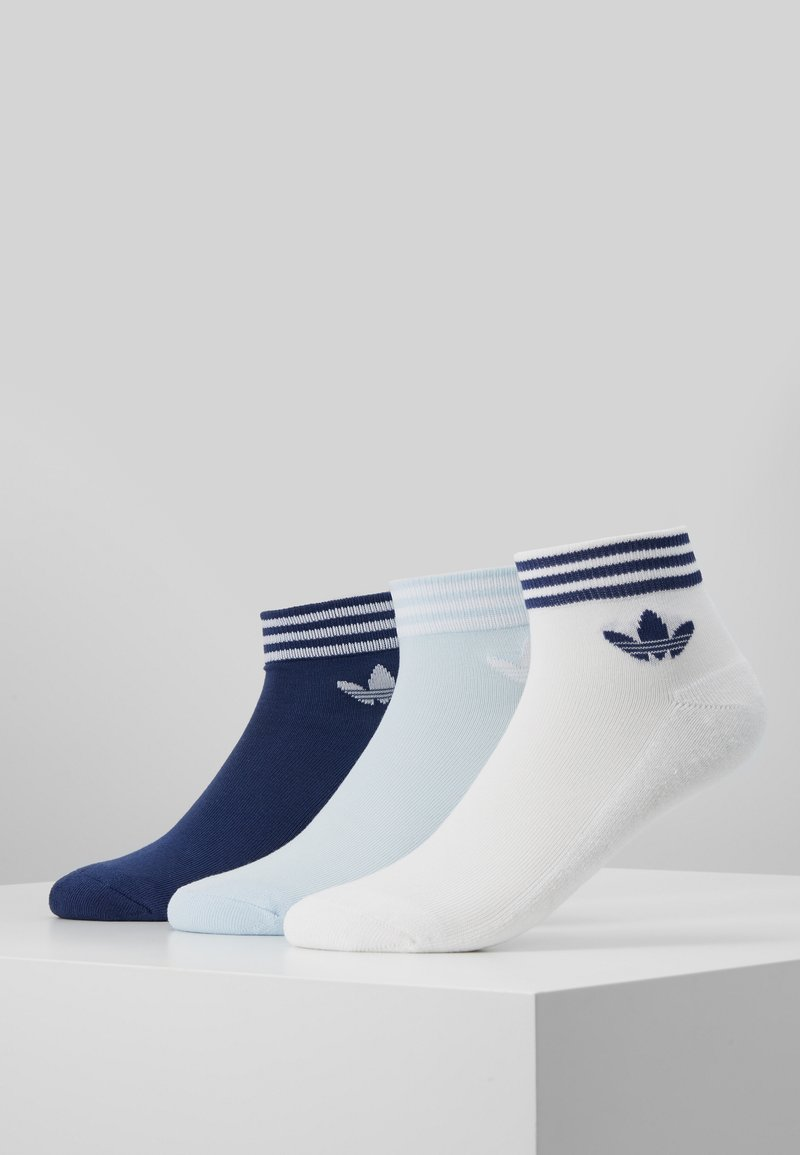 adidas Originals - 3 PACK - Skarpety - white