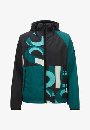Outdoor jacket - open green