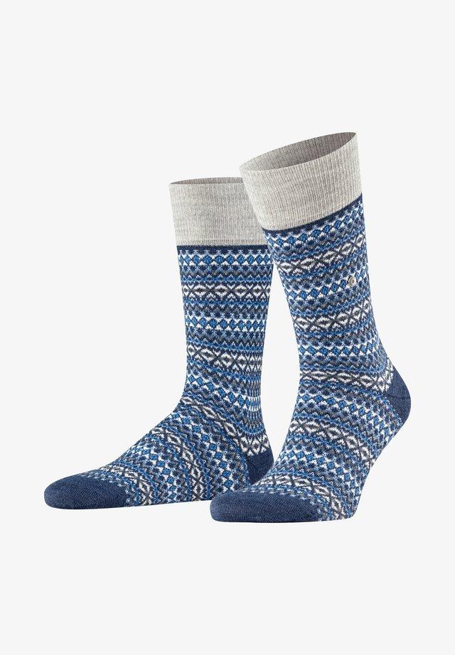 ISLE - Socks - dark blue mel