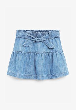 A-snit nederdel/ A-formede nederdele - blue denim