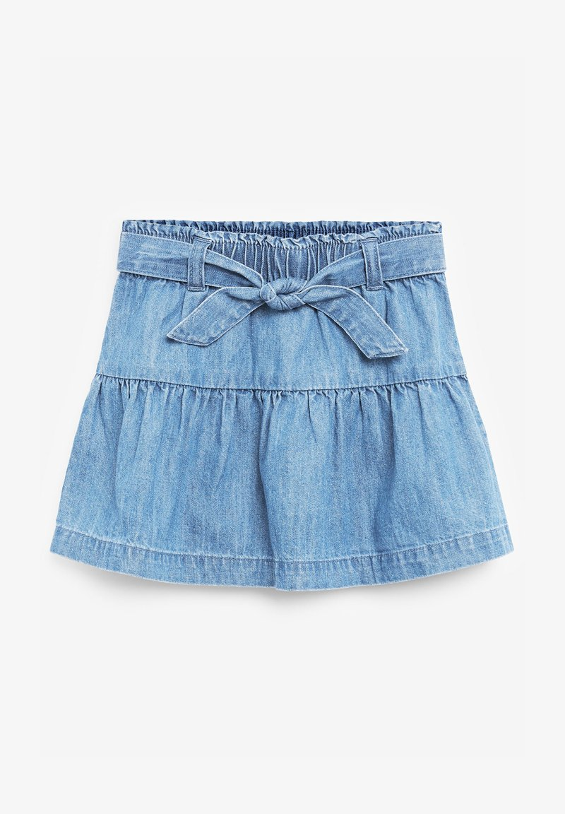 Next - A-line skirt - blue denim