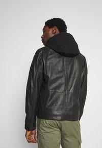 Strellson - FANE - Leather jacket - black - 2