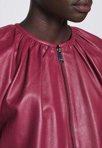 MAX&Co. - DEPONGO - Leather jacket - capnella rose - 5