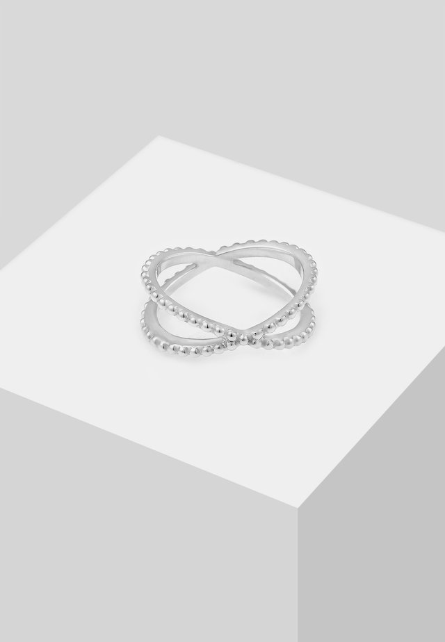 KREUZ - Prsten - silver-coloured