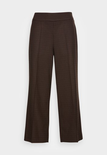 MISHA HERITAGE - Trousers - truffle