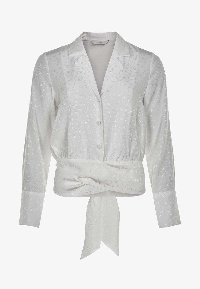 Blouse - bright white