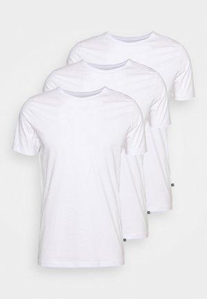 JERMANE 3 PACK - Jednoduché triko - white/white/white