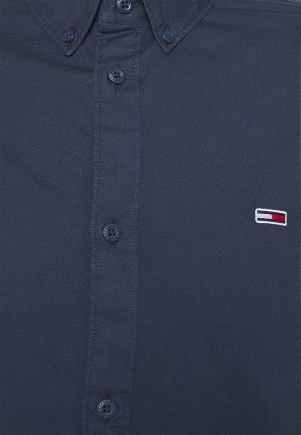 Tommy Jeans LIGHTWEIGHT TWILL SHIRT - Koszula - blue/granatowy Odzież Męska IIEH
