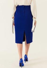 IVY & OAK - Pencil skirt - illuminated blue - 2
