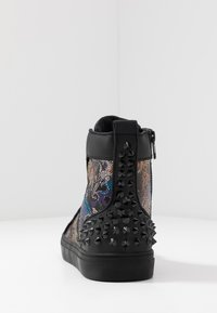 Steve Madden - CHAOS - Sneakersy wysokie - blue/multicolor - 3