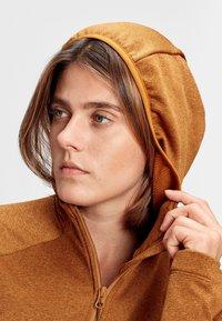 Mammut - NAIR  - Fleece jacket - tumeric melange - 3