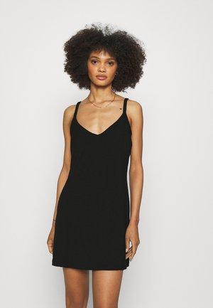 TALCO SLIP DRESS - Noční košile - black