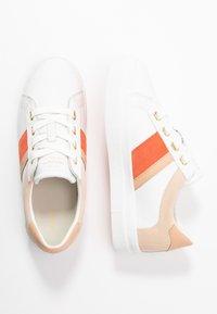 GANT - AVONA  - Trainers - bright white/coral - 3