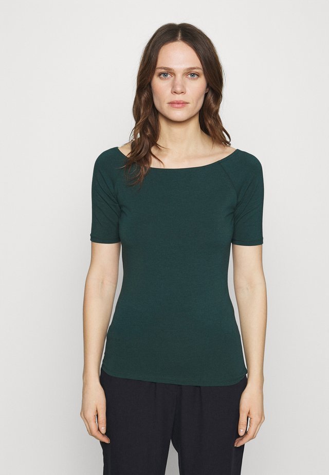 TANSY  - Basic T-shirt - bottle green