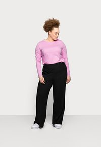 Pieces Curve - PCRIA NEW TEE - Long sleeved top - pastel lavender - 1