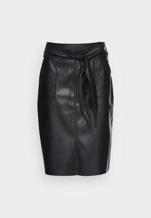 ENIKITA - Pouzdrová sukně - noir