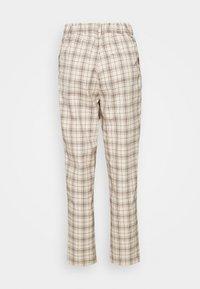 Monki - TYRA TROUSERS - Trousers - mini grid - 6
