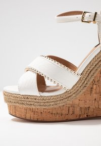River Island Wide Fit - High heeled sandals - white - 2