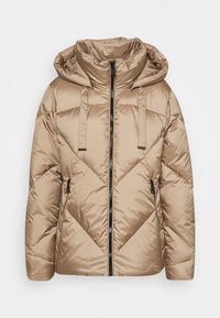 Down jacket - camel