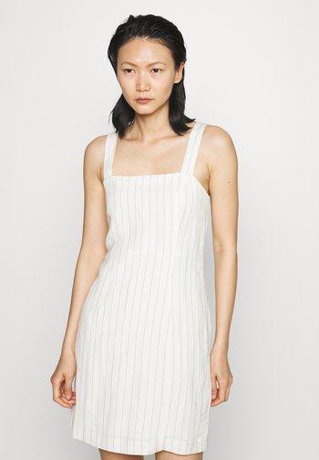 SQUARE NECK MINI - Day dress - off-white