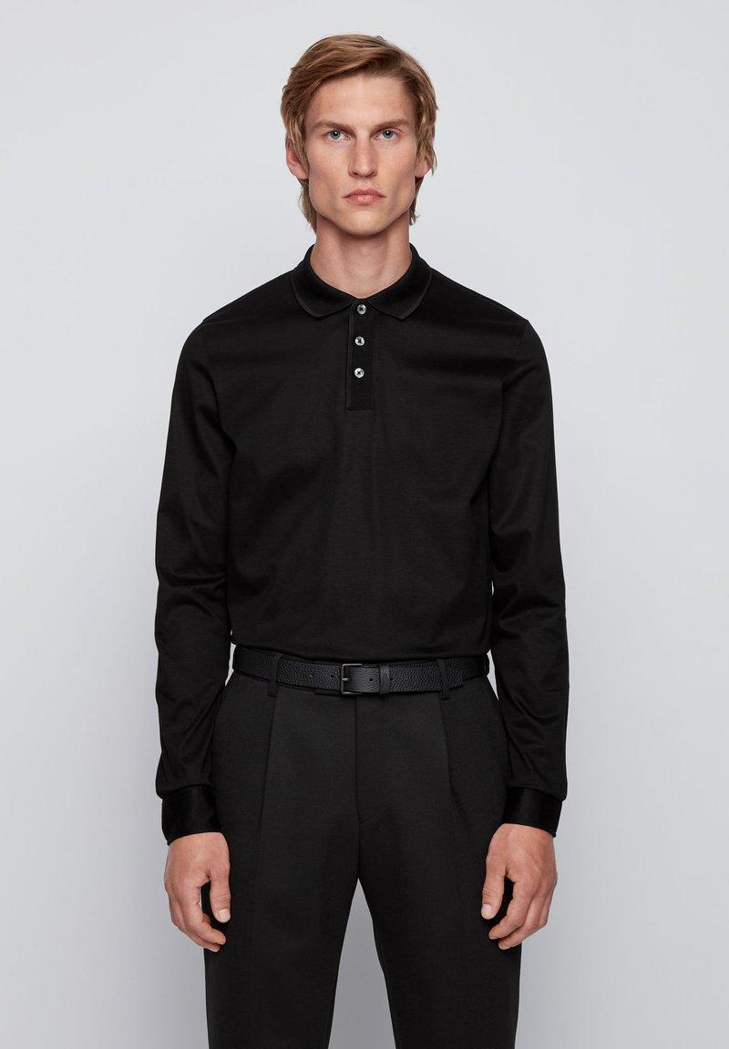 BOSS - PAVER  - Poloshirt - black