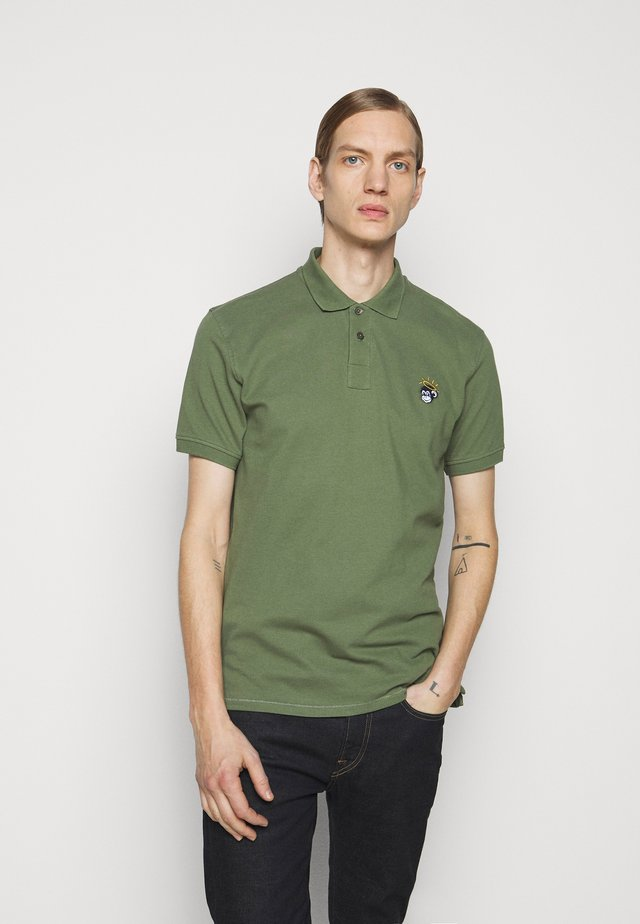 MENS MONKEY - Poloshirt - green