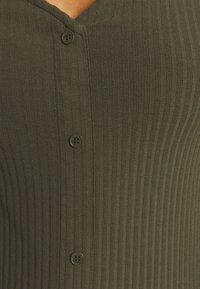 ONLY - ONLNELLA LONG BUTTON DRESS - Jersey dress - kalamata - 5